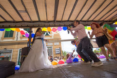 2016 Homoseksualnych dum Genova Fotografia Royalty Free