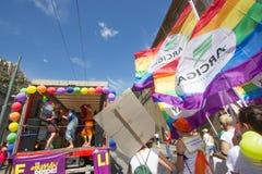 2016 Homoseksualnych dum Genova Obraz Stock