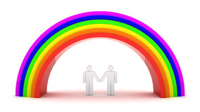 Homosexual couple Royalty Free Stock Photo