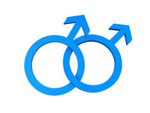 Homosexual Gay Symbol Royalty Free Stock Photography