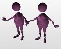Homosexualidad ilustración del vector