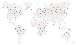 Homosexualitet över hela världen stock illustrationer