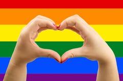 Homosexuel d'amour Photographie stock