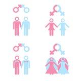 Homosexuelle Ehe stock abbildung
