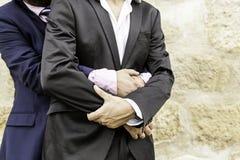Homosexuelle Hochzeit der Liebe lizenzfreie stockbilder