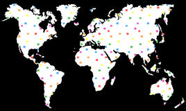 Homosexuelle lesbische Planeten-Erde Lizenzfreie Stockfotografie