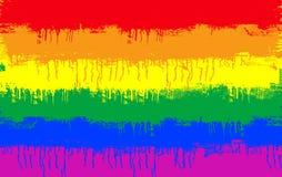 Homosexuelle Markierungsfahne Lizenzfreies Stockfoto