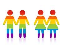 Homosexuelle Paare Stockbilder