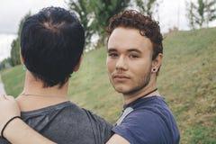 Homosexuelle Paare Stockfotos