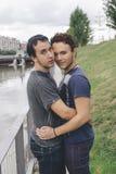 Homosexuelle Paare Stockbild