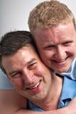 Homosexuelle Paare Stockfotografie