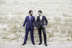 Homosexuelle Paarliebe Lizenzfreie Stockfotografie