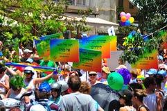 Homosexuelle Parade Aviv-2010 Stockfotos