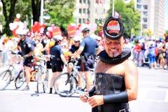 Homosexuelle Stolz-Parade Stockbild