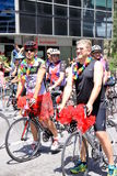 Homosexuelle Stolz-Parade Stockfotografie