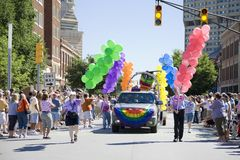 Homosexuelle Stolz-Parade Lizenzfreies Stockbild