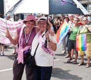 Homosexuelle Stolz-Parade London 2010 lizenzfreie stockbilder