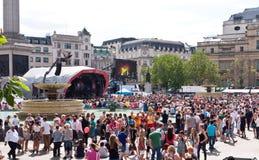 Homosexuelle Stolz-Parade London 2010 stockbilder