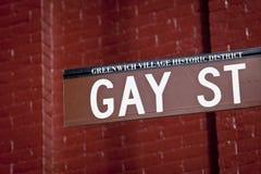 Homosexuelle Straße lizenzfreies stockfoto