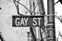 Homosexuelle Straße stockfotos