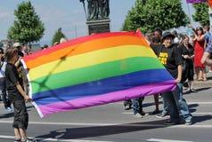 Homosexueller Stolz 2011, Genf, Schalter Stockfotos