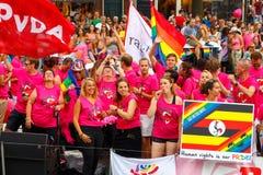 Homosexueller Stolz 2014 Amsterdams Lizenzfreie Stockfotografie