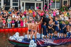 Homosexueller Stolz 2014 Amsterdams Lizenzfreie Stockbilder