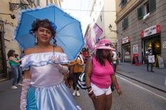 2016 homosexueller Stolz Genua Stockfoto