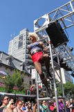 Homosexuelles Pride Parade N 2013 Lizenzfreie Stockfotos