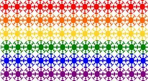 Homosexuelles und Lesben-Muster Stockfoto