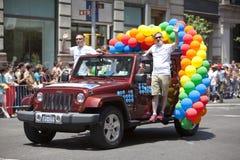 Homossexual Pride March de New York Imagens de Stock