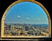 Homs stad i Syrien royaltyfri foto