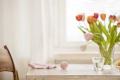 Homy Table Background Royalty Free Stock Photo