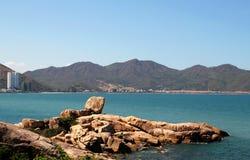 Hon Chong Beach als de Steen GardenSu ook wordt bekend die royalty-vrije stock foto