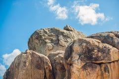 Hon Chong cape, Garden stone, popular tourist destinations at Nha Trang. Vietnam. Asia Travel concept. Journey through Vietnam Concept Stock Photo