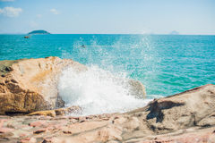 Hon Chong cape, Garden stone, popular tourist destinations at Nha Trang. Vietnam Royalty Free Stock Image