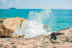 Hon Chong cape, Garden stone, popular tourist destinations at Nha Trang. Vietnam Royalty Free Stock Photos