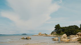 Hon Chong cape. Popular tourist destinations at Nha Trang. Vietnam. Shot in 4K - 3840x2160, 30fps stock video footage