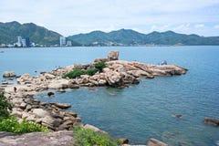 Hon Chong Promontory at Nha Trang City, Vietnam Royalty Free Stock Images