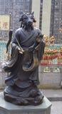 Hon Kong La scultura bronzea sul territorio del complesso del tempio del peccato di Wong tai Immagine Stock