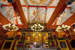 Hon Kong Nel tempio su Lin Immagine Stock Libera da Diritti