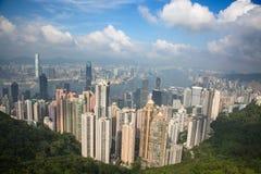 Hon Kong Vue de la crête Photographie stock libre de droits