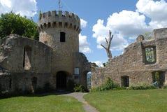 Honberg城堡废墟 库存照片