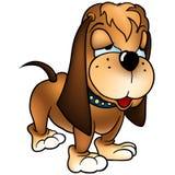 Hond Baset vector illustratie