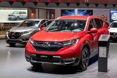 Honda χρώμιο-Β και Honda ωρ.-Β αυτοκίνητα στοκ φωτογραφία με δικαίωμα ελεύθερης χρήσης