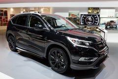 Honda χρώμιο-Β μαύρη έκδοση στοκ φωτογραφία