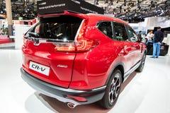 Honda χρώμιο-Β υβριδικό αυτοκίνητο SUV στοκ φωτογραφίες με δικαίωμα ελεύθερης χρήσης