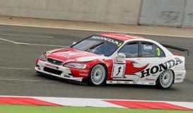 Honda Accord, British Touring Cars Stock Image