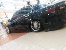 Honda accord. Black Royalty Free Stock Photos