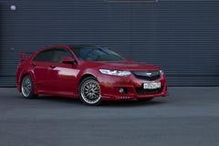 Honda Accord Mugen. Honda Accord 8gen Mugen Red Stock Images